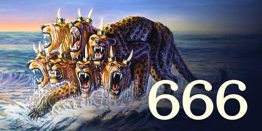 WAS BEDEUTET DIE 666 - Marke VON DER BESTIE, BRÜDER UND