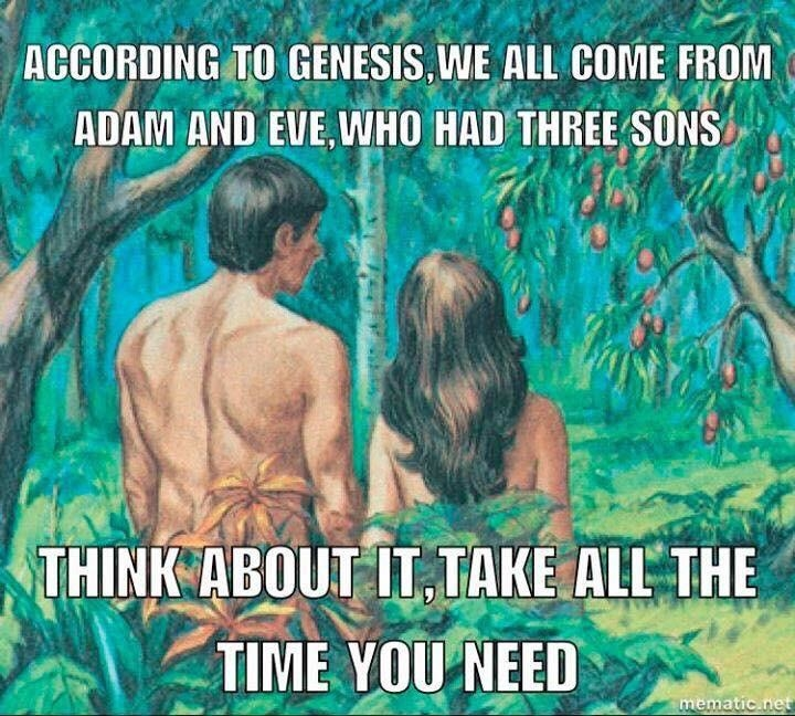 We all come from Adam and Eve?