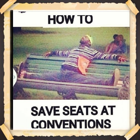 How to save seats
